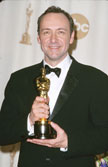 Kevin Spacey wins Best Actor at the 2000 Academy Awards
