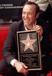 Kevin Spacey gets his star on Hollywood's Walk of Fame