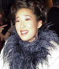 Sandra Oh at the 19th annual Genie Awards